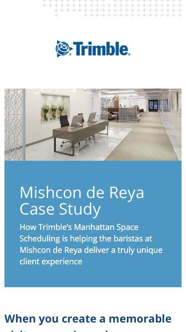 Mishcon de Reya Case Study