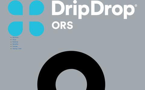 Screenshot of Trial Page dripdrop.com - DripDrop Two Stick Trial                – DripDropORS - captured Jan. 2, 2018