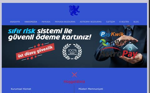 Screenshot of Home Page tempo-kart.com - Güvenli Yüksek Kur Paykasa Bozdurma - Astropay Bozum Güvenli Yüksek Kur Paykasa Bozdurma - Astropay Bozum - captured Dec. 6, 2018
