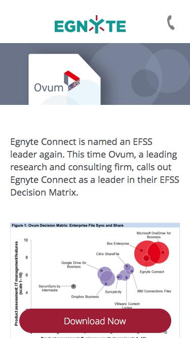 Egnyte Connect is named an EFSS leader again.