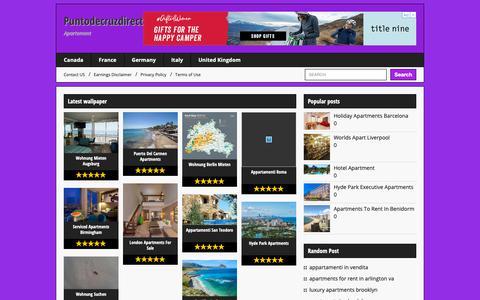 Screenshot of Home Page puntodecruzdirecto.com - Puntodecruzdirecto.com - captured Nov. 23, 2018