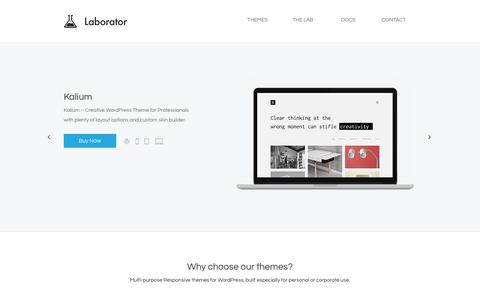 Laborator | Premium Quality WordPress Themes