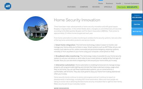 Wireless Home Automation & Video Monitor Security Systems | ADT