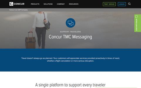 Automate Communications to Travelers with TMC Messaging - Concur