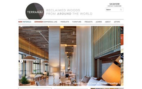 TerraMai - Reclaimed Woods From Around The World