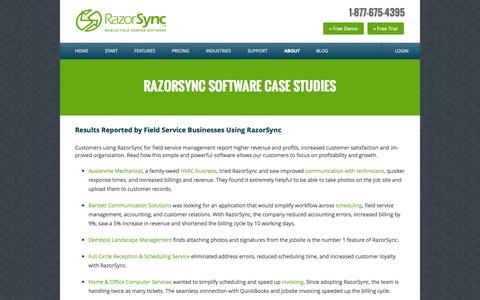 RazorSync Customer Case Studies | Field Service Business Software