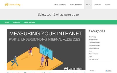 bananatag com's Web Marketing Designs | Crayon