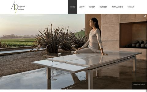 Screenshot of Home Page adsreps.com - ADS Reps | Architectural Design Specialties - captured Feb. 6, 2016