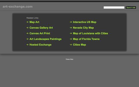 Screenshot of Home Page art-exchange.com - Art-Exchange.com - captured Feb. 6, 2016