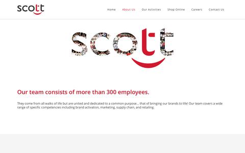 Screenshot of Team Page scott.mu - Scott Co Ltd |   Our Team - captured Sept. 28, 2016
