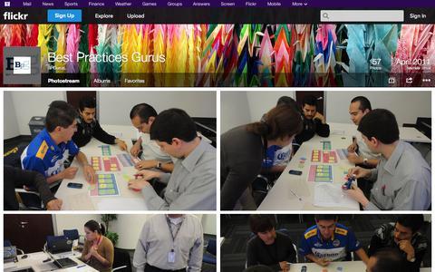 Screenshot of Flickr Page flickr.com - Flickr: BPGurus' Photostream - captured Oct. 23, 2014