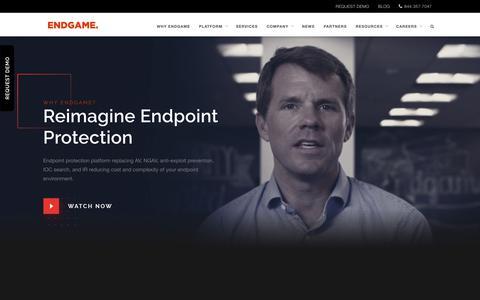 Endpoint Protection Platform for Enterprises | Endgame