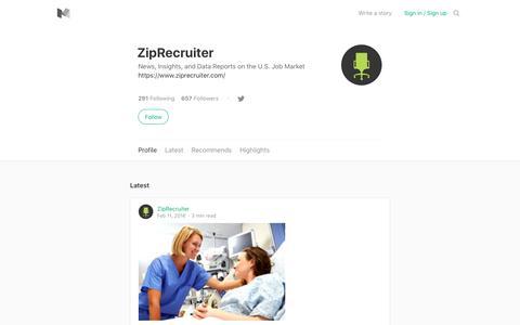 ZipRecruiter – Medium