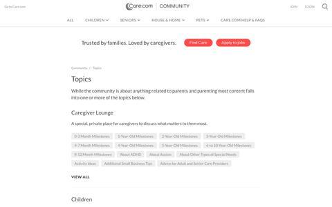 Care.com Community