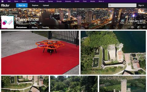 Screenshot of Flickr Page flickr.com - Flickr: flyingshow's Photostream - captured Oct. 23, 2014