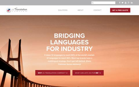 US Translation Company – Language Services for Industry