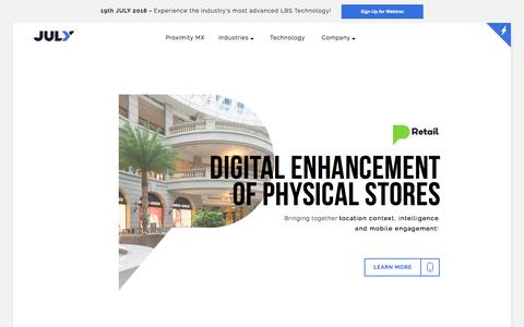 Retail Location Based Technology - Location Based Customer Engagement for Retail Industry