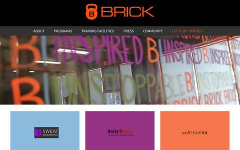 Screenshot of Press Page brickspt.com - Press - captured March 29, 2016
