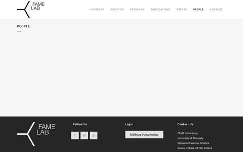 Screenshot of Team Page famelab.gr - Fame Lab |   People - captured June 5, 2017