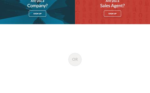 Screenshot of Signup Page commissioncrowd.com - Signup   CommissionCrowd - captured Aug. 9, 2017