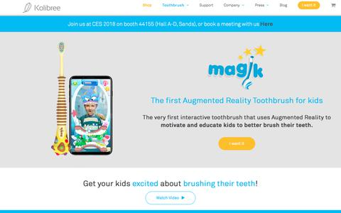 Features of the new Magik Toothbrush