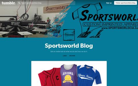 Screenshot of Blog sportsworldcia.com - Sportsworld Blog - captured Dec. 13, 2016