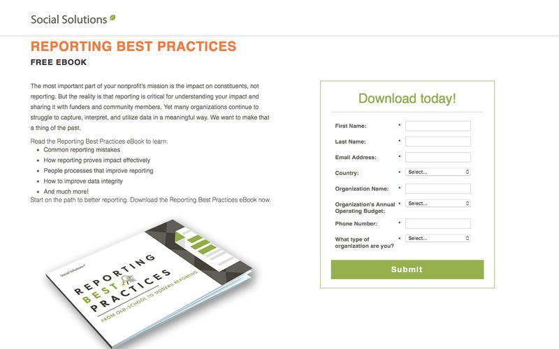 Reporting Best Practices eBook