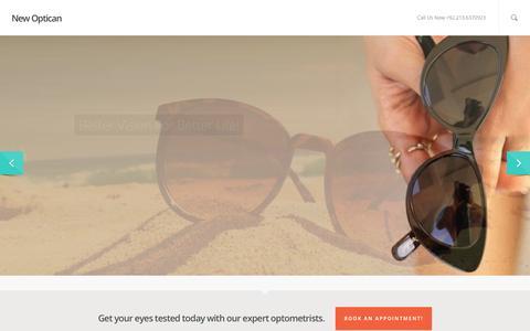 Screenshot of Login Page newoptican.pk - New Optican - captured Aug. 14, 2015