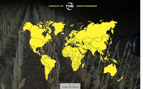 Screenshot of Maps & Directions Page tyrilights.com - TYRI Global - captured Nov. 23, 2016