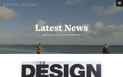 Screenshot of Press Page dental-design-products.co.uk - Dental Design - captured April 20, 2019
