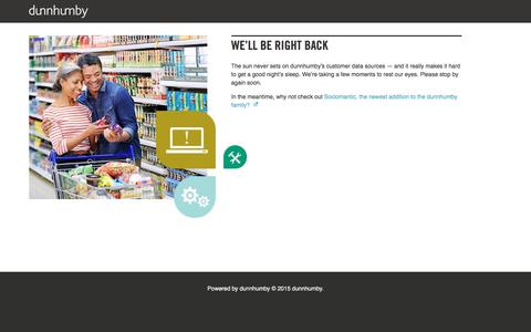 Screenshot of Team Page dunnhumby.com - dunnhumby.com - captured April 12, 2018