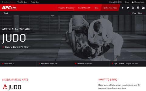 Judo Classes & Training | Gym & Fitness | UFC GYM