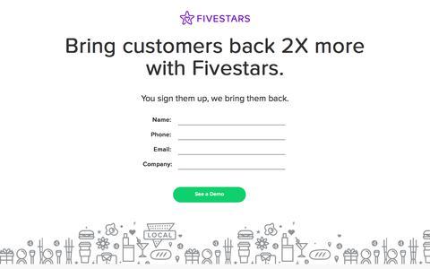 small business marketing - fivestars