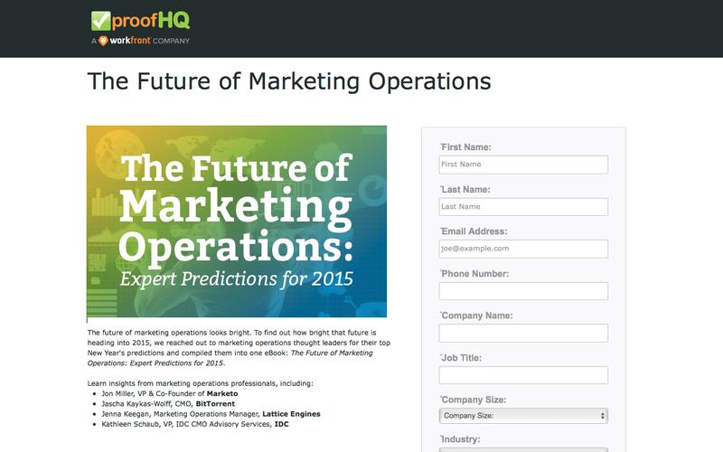 ebook: The Future of Marketing Operations