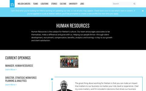 Human Resources – Nielsen Careers