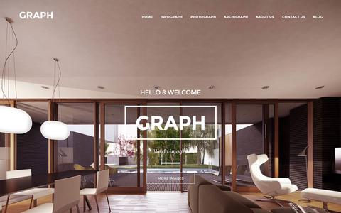 Screenshot of Home Page graph.cat - GRAPH  | Graph Arquitectura - captured Oct. 1, 2014