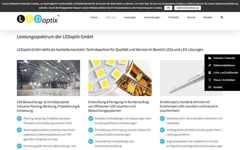 Screenshot of Team Page ledoptix.de - Technikpartner für LED Leuchten und LED Leuchtmittel - captured July 14, 2018