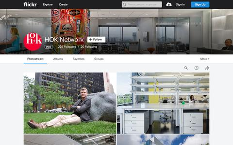Screenshot of Flickr Page flickr.com - HOK Network | Flickr - Photo Sharing! - captured Nov. 18, 2015
