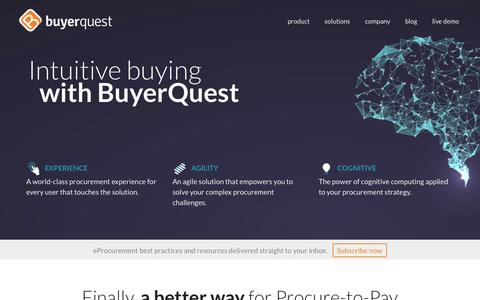BuyerQuest | A Better Way for Procure-to-Pay