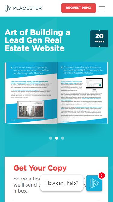 Art of Building a Lead Gen Real Estate Website | Placester
