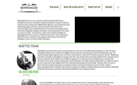 Screenshot of Team Page newfangledcommerce.com - Meet the Newfangled Commerce Team - captured Sept. 21, 2018
