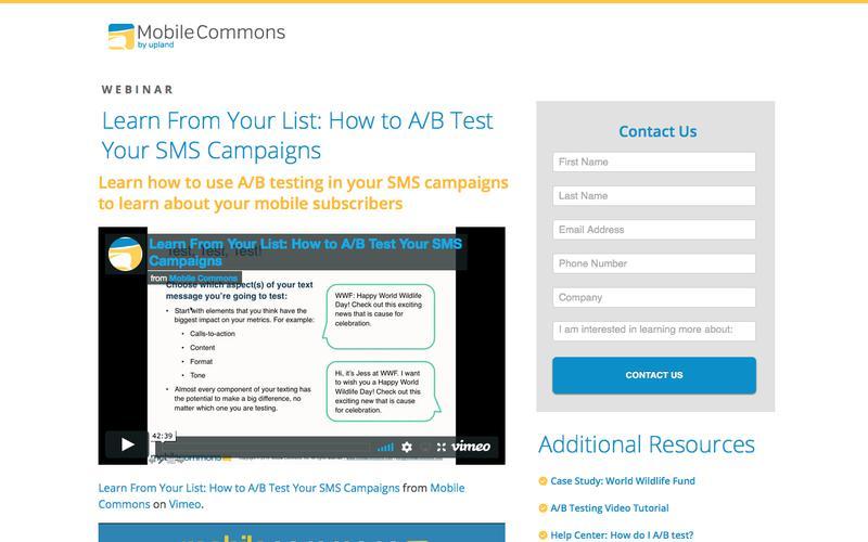 A/B Testing  Webinar Download