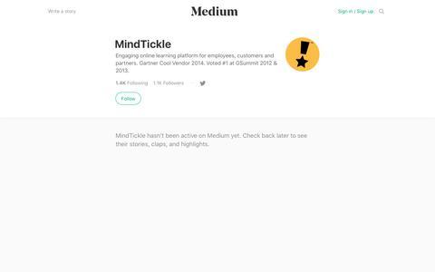 MindTickle – Medium