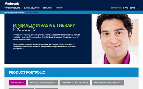 Healthcare & Medical Products Pages | Website Inspiration