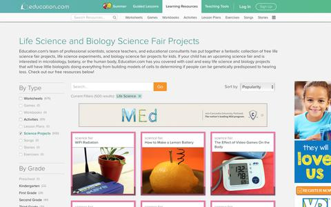 Life Science and Biology Science Fair Projects | Education.com