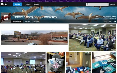 Screenshot of Flickr Page flickr.com - Flickr: Robert Sharp and Associates' Photostream - captured Oct. 23, 2014