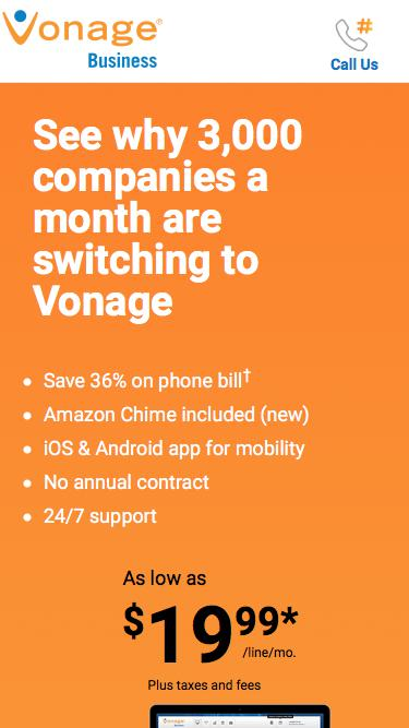 Vonage Business | Business Grade. People Friendly.