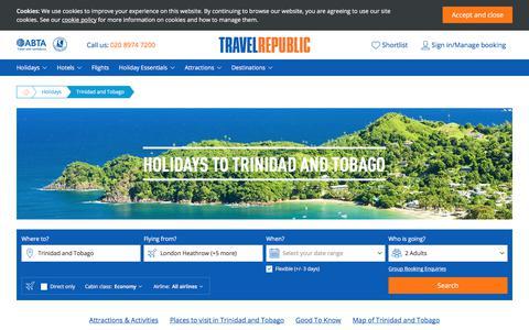 Cheap Holidays to Trinidad and Tobago 2017/2018 | Travel Republic