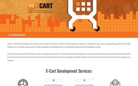 X-Cart Ecommerce Development | Xcart Developer Hire India