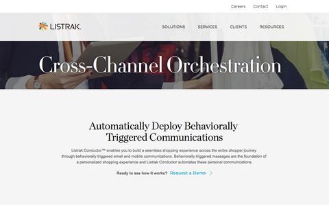 Cross-Channel Marketing Orchestration   Shopper Journey Automation   Listrak